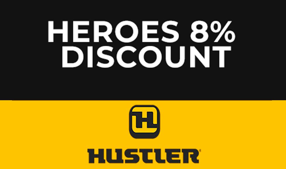 Hustler - HUSTLER MILITARY DISCOUNT at ATVs and More