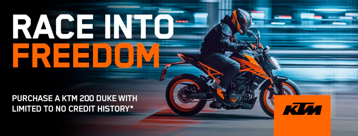 KTM - RACE INTO FREEDOM at Hebeler Sales & Service, Lockport, NY 14094