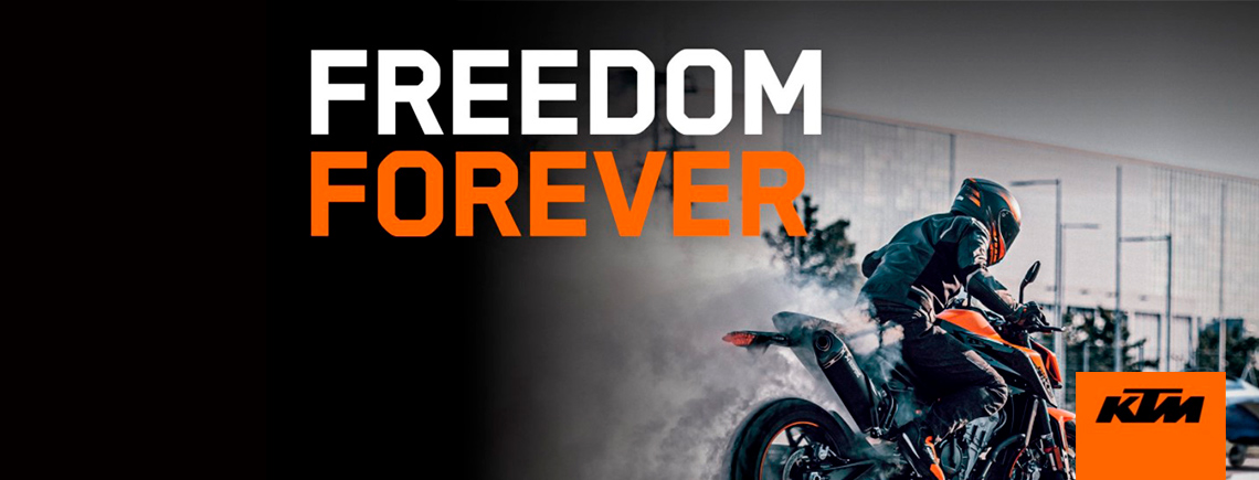 KTM - FREEDOM FOREVER MILITARY LOAN PROGRAM at Cascade Motorsports