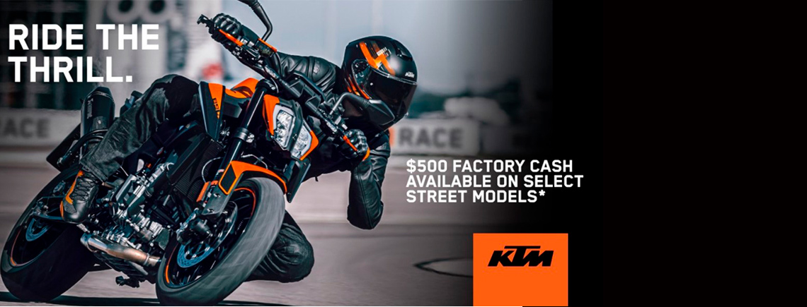 KTM - OCTOBER 2021 KTM POWER DEALS at Pitt Cycles