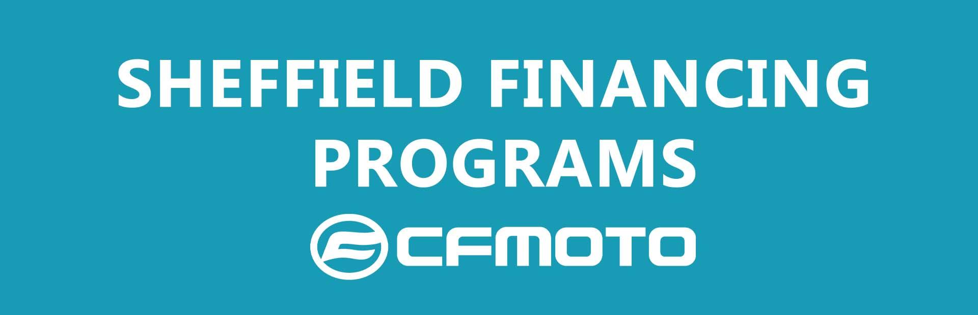 CF Moto - Retail Financing Programs at Hebeler Sales & Service, Lockport, NY 14094