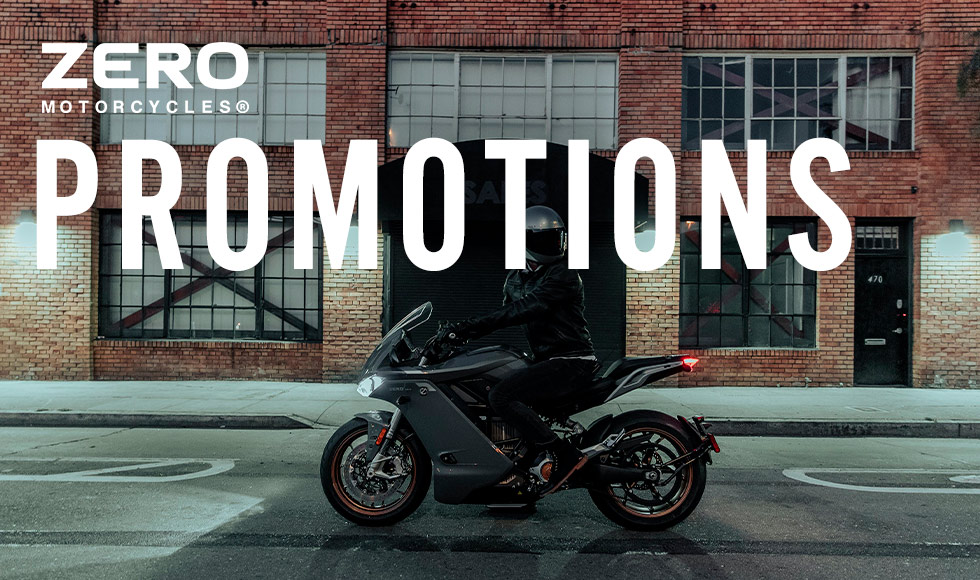 Zero Motorcycles US - Promotions at Eurosport Cycle