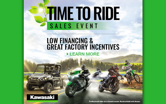 Time to Ride Sales Event at Rod's Ride On Powersports, La Crosse, WI 54601