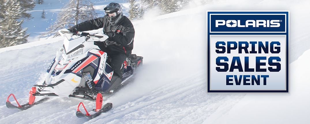 Snowmobile Spring Sales Event at Fort Fremont Marine, Fremont, WI 54940