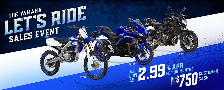 The Yamaha Let's Ride Sales Event at Yamaha Triumph KTM of Camp Hill, Camp Hill, PA 17011