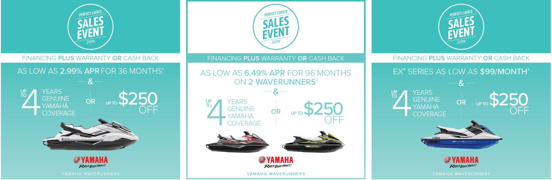 Perfect Choice Sales Event at Kawasaki Yamaha of Reno, Reno, NV 89502
