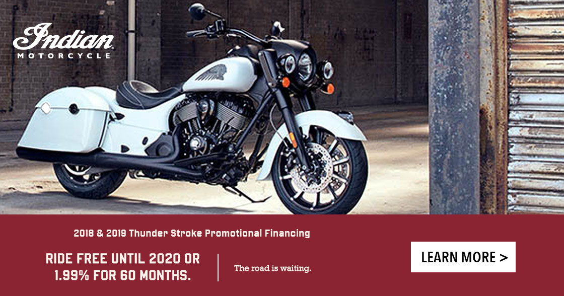 Promotional Financing - 2018 and 2019 Thunder Stroke 111 Models at Lynnwood Motoplex, Lynnwood, WA 98037