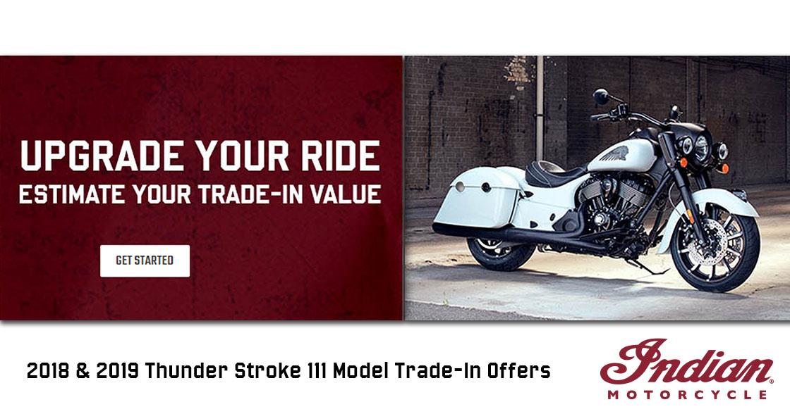 2018 & 2019 Thunder Stroke 111 Model Trade-In Offers at Mungenast Motorsports, St. Louis, MO 63123