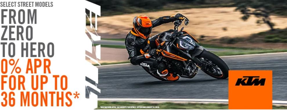 From Zero to Hero Promotion at Yamaha Triumph KTM of Camp Hill, Camp Hill, PA 17011