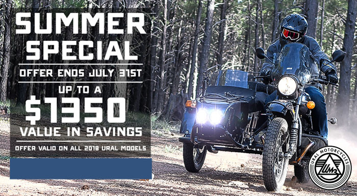 Ural Summer Special at Randy's Cycle, Marengo, IL 60152