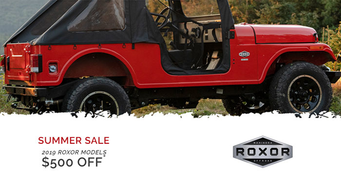 ROXOR Summer Sale at Thornton's Motorcycle - Versailles, IN