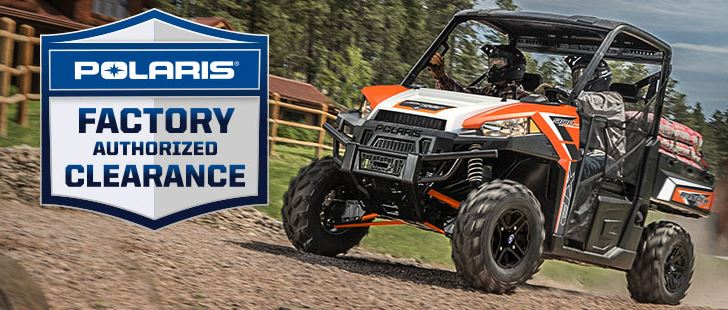 Polaris Factory Authorized Clearance at Waukon Power Sports, Waukon, IA 52172
