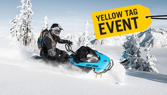 Yellow Tag Event at Power World Sports, Granby, CO 80446