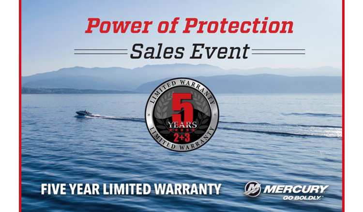 Mercury Power of Protection Sales Event at Fort Fremont Marine Redesign