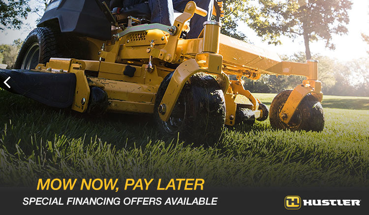 Hustler Mow Now, Pay Later Promotion at Lincoln Power Sports, Moscow Mills, MO 63362