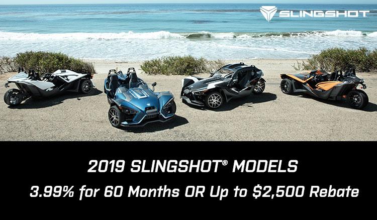 2019 SLINGSHOT® MODELS at Sloans Motorcycle ATV, Murfreesboro, TN, 37129