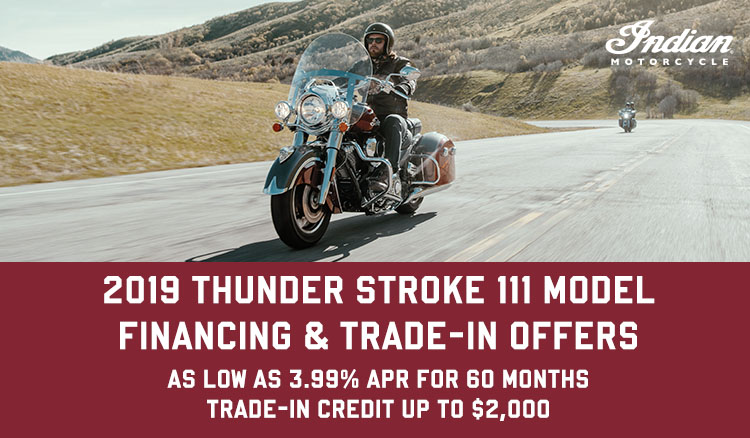 PROMOTIONAL FINANCING - 2019 THUNDER STROKE at Fort Lauderdale
