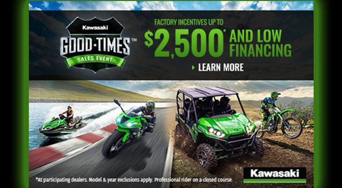 Good Times Sales Event at Brenny's Motorcycle Clinic, Bettendorf, IA 52722