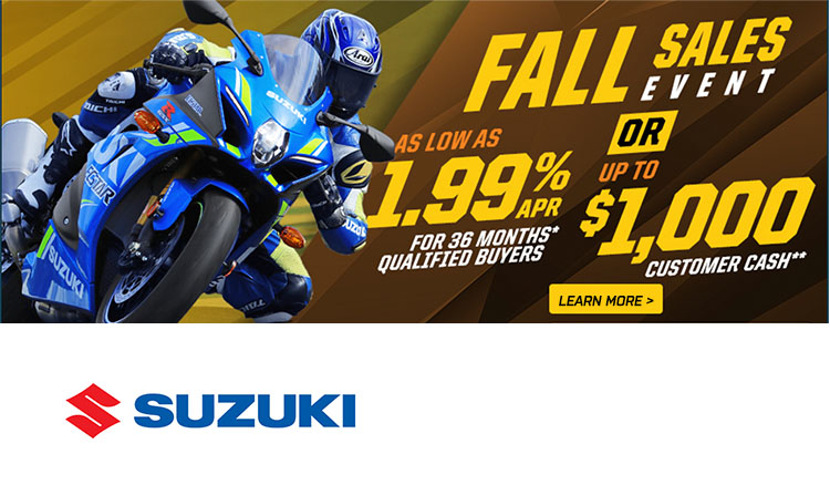 Fall Sales Event at Thornton's Motorcycle - Versailles, IN