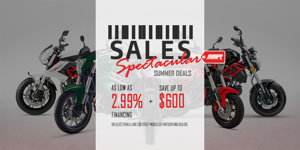 SALES SPECTACULAR - SUMMER DEALS at Randy's Cycle, Marengo, IL 60152