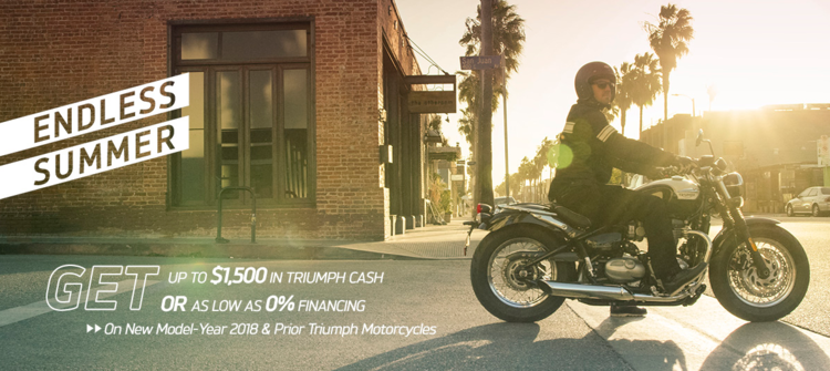 Triumph Endless Summer at Yamaha Triumph KTM of Camp Hill, Camp Hill, PA 17011