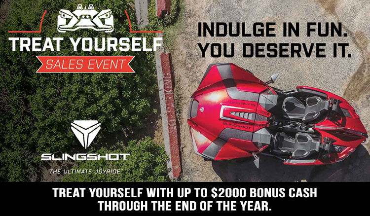 Polaris Slingshot Offers at Sloans Motorcycle ATV, Murfreesboro, TN, 37129