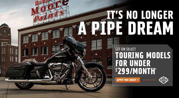 TOURING OFFER at #1 Cycle Center Harley-Davidson