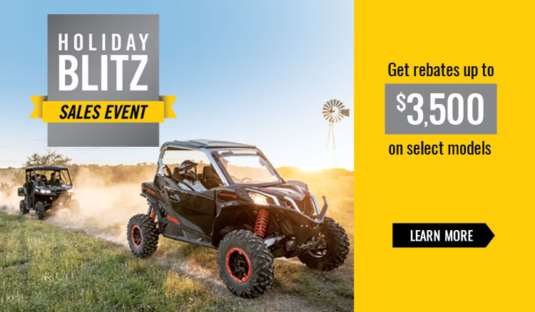 Holiday Blitz Sales Event at Wild West Motoplex