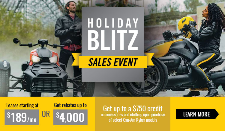 Holiday Blitz Sales Event at Sloans Motorcycle ATV, Murfreesboro, TN, 37129