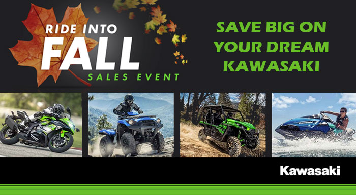 Ride Into Fall Sales Event at Brenny's Motorcycle Clinic, Bettendorf, IA 52722