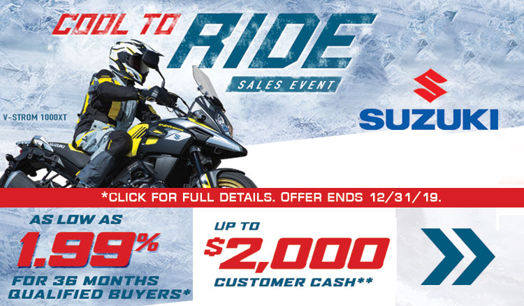 Cool To Ride Sales Event at Ride Center USA