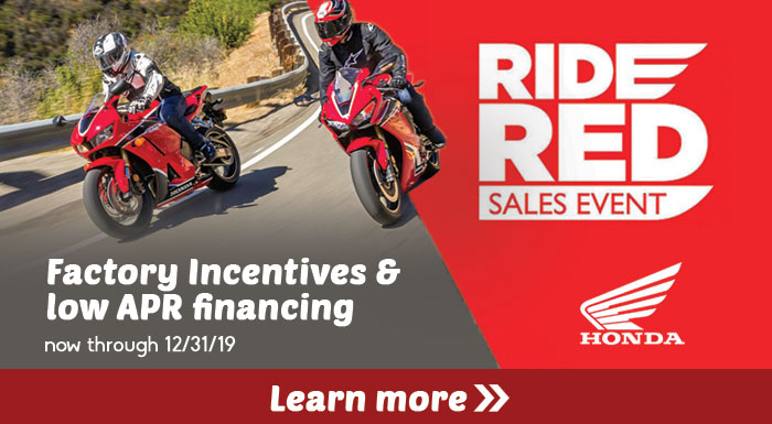 Ride Red Sales Event at Bay Cycle Sales