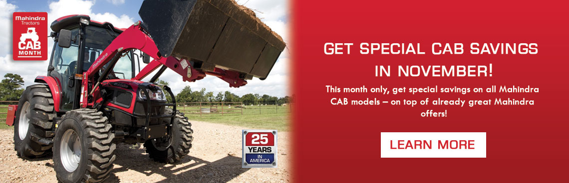 Special Cab Savings at Thornton's Motorcycle - Versailles, IN