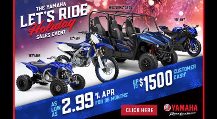 Let's Ride Holiday Sales Event at Got Gear Motorsports
