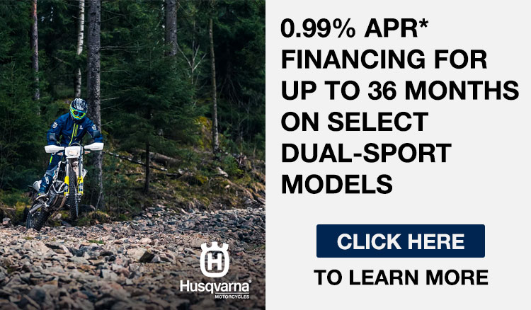0.99% APR FINANCING FOR UP TO 36 MONTHS ON SELECT DUAL-SPORT MODELS at Bobby J's Yamaha, Albuquerque, NM 87110