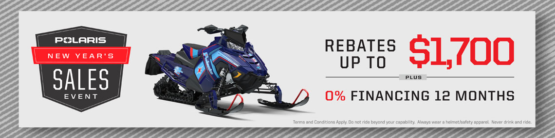 Polaris New Year's Sales Event at Fort Fremont Marine