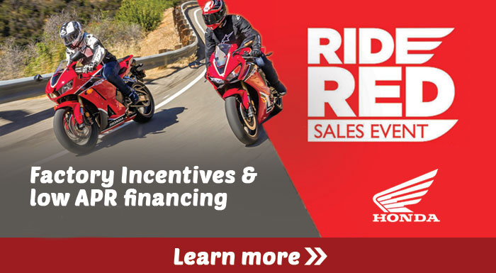 Ride Red Sales Event at Wild West Motoplex