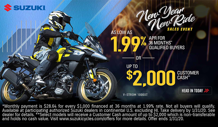 New Year New Ride Sales Event at Columbia Powersports Supercenter