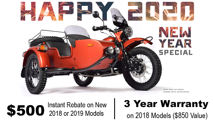 Happy 2020 New Year Special at Randy's Cycle, Marengo, IL 60152
