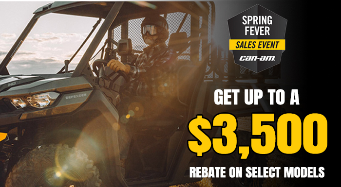 SPRING FEVER SALES EVENT at Jacksonville Powersports, Jacksonville, FL 32225