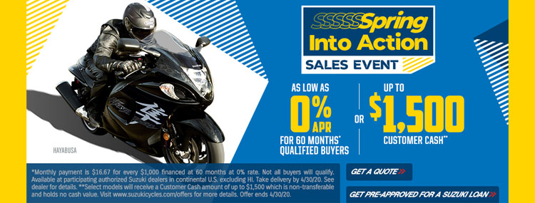 Spring Into Action Sales Event at Kent Powersports of Austin, Kyle, TX 78640