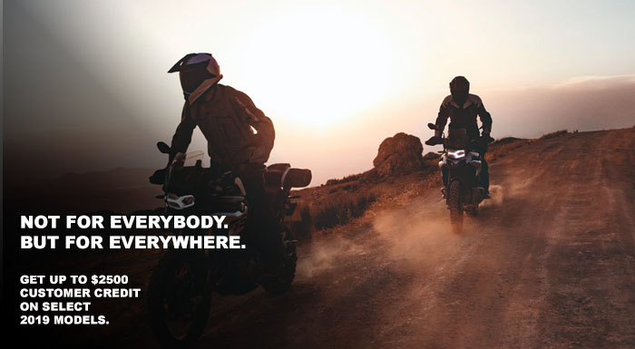 NOT FOR EVERYBODY. BUT FOR EVERYWHERE. at Wild West Motoplex