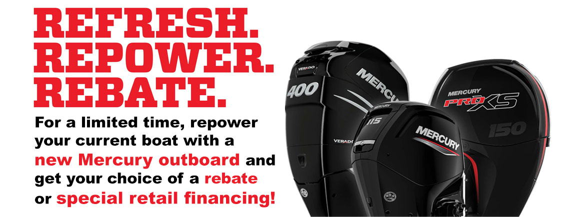 Refresh. Repower. Rebate. at Boat Farm, Hinton, IA 51024