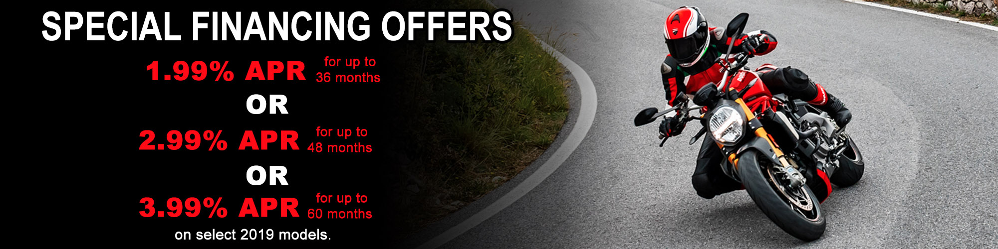 Special Financing Offers at Frontline Eurosports