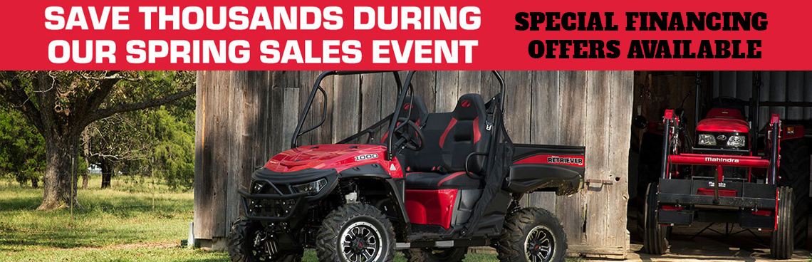 Spring Sales Event at Thornton's Motorcycle - Versailles, IN