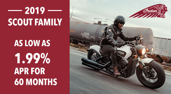 2019 Scout Family at Indian Motorcycle of Northern Kentucky