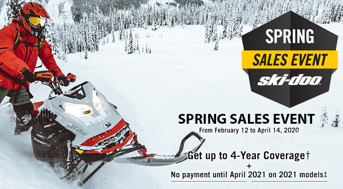 Spring Sales Event Exclusive at Riderz