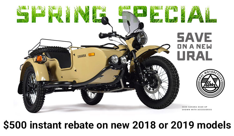 Spring Special at Randy's Cycle, Marengo, IL 60152