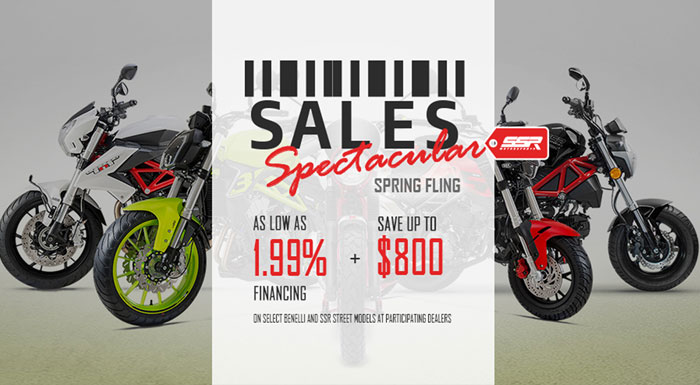 Sales Spectacular Spring Fling at Randy's Cycle, Marengo, IL 60152