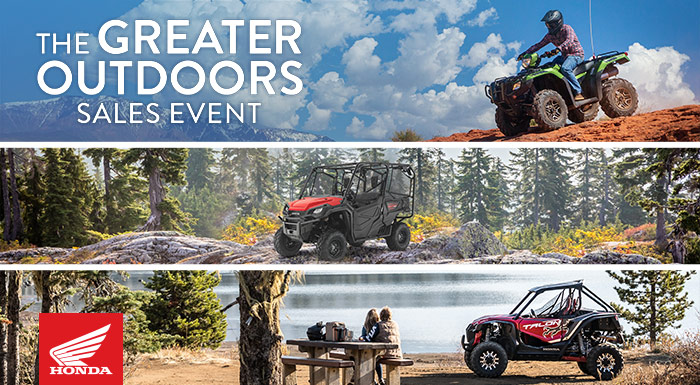 The Greater Outdoors Sales Event at Wild West Motoplex